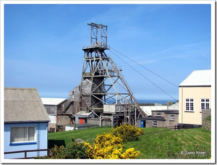 Geever tin mine, Cornwall.