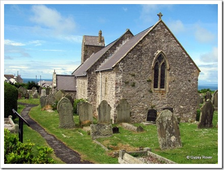 St Mary's church, Rhossili.
