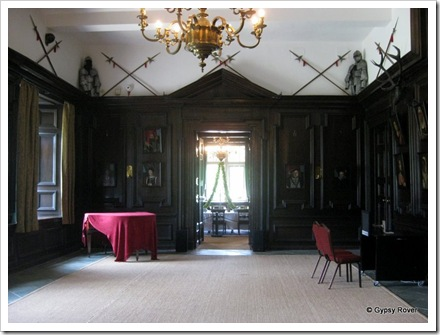 Tredegar House. Some entrance foyer.