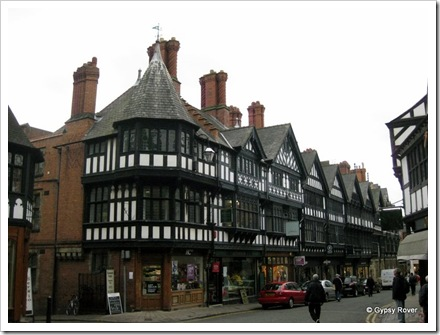 Tudor style in Chester.