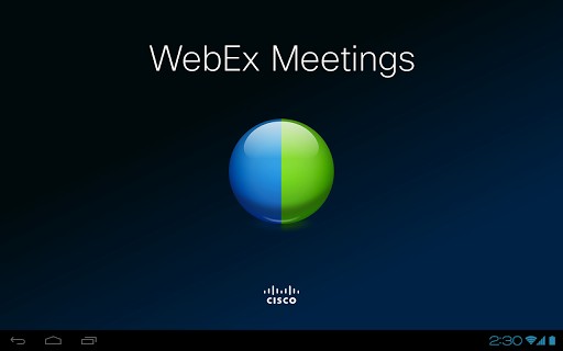 cisco-webex-meetings for android screenshot