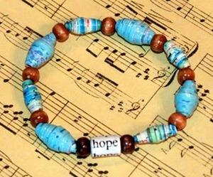 kenya bead bracelet