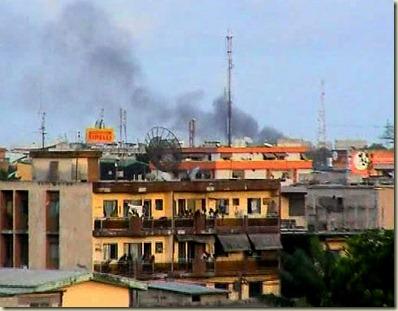 Ivory Coast Fire