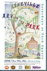 Art In The Park 2010F Poster