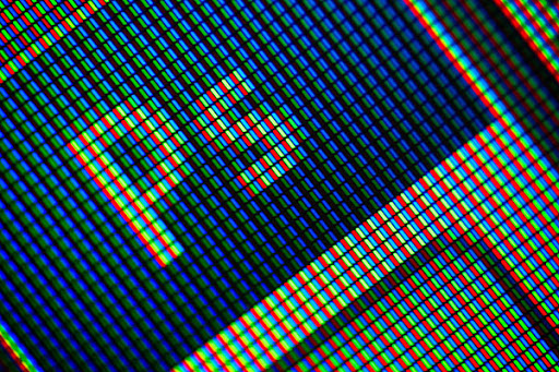 Supermacro - bildskärm