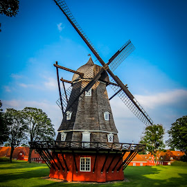 by Martin Jensen - Buildings & Architecture Public & Historical ( old, windmill )