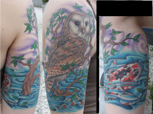 Earl Funk Trinity Tattoo Owl Tattoo