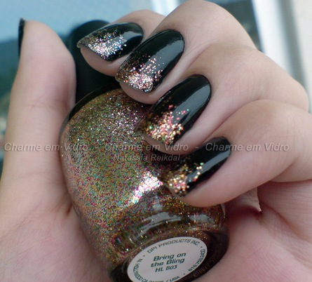 Bring on the Bling - OPI + Dragão Negro