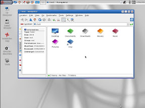 Fancy icons are a given with KDE. Another draw for first timers and DE hoppers alike
