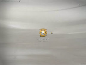 The E17 splash screen. This can be disabled=