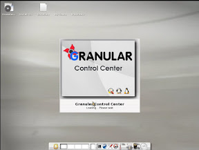 Launching the Granular control center. I think thats the wrong spelling of centre