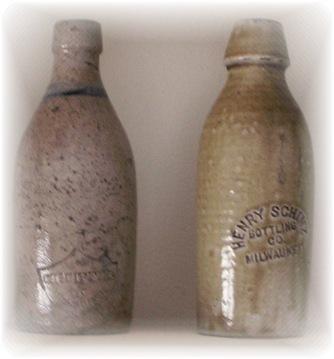 1800s Beer Bottles