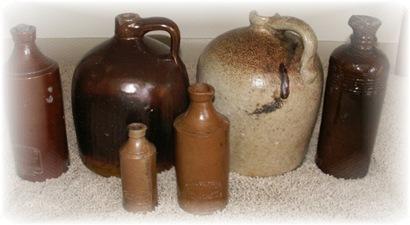 1800s Ink Bottles
