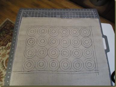 Pennies Rug Pattern