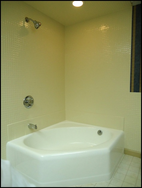 Tub no surround