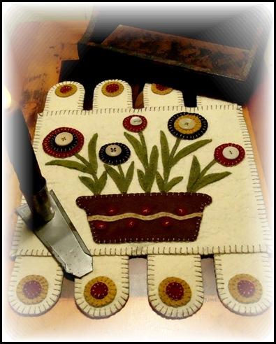 Flowers in Basket Mat 1