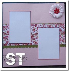 Pink Pirouette Scrapbook 2