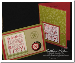 Melinda & Kathy Christmas cards