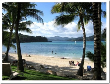 Beach on hamilton island CD