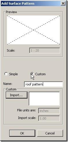 add surface pattern