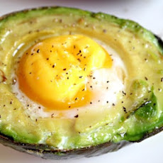 Avocado Egg in a Basket