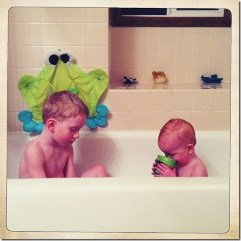kids in bath 1