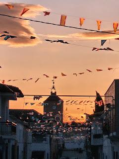 Calle Mayor en Noblejas