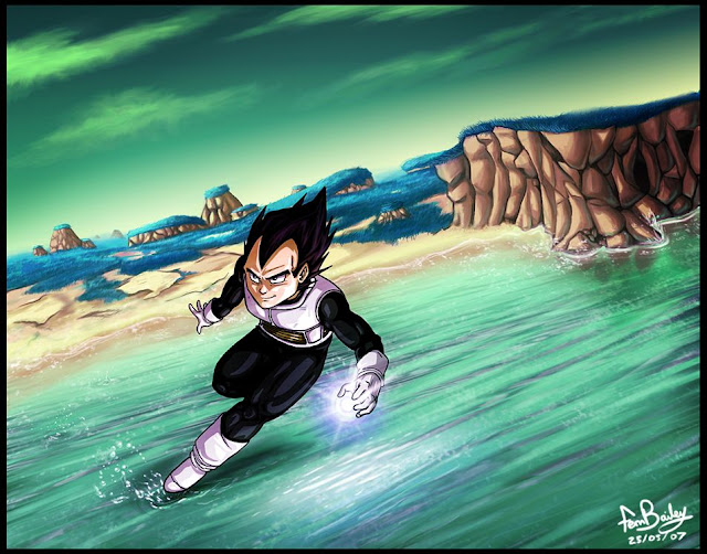 On Namekian Waters by Ferntree Megapost   Imagenes de Dragon Ball   Parte 3   Vegeta