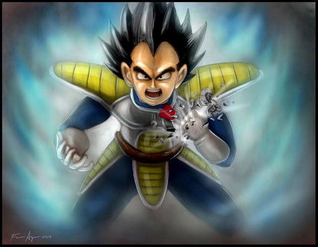 OVER 9000 VIEWS by BluDrgn426 Megapost   Imagenes de Dragon Ball   Parte 3   Vegeta