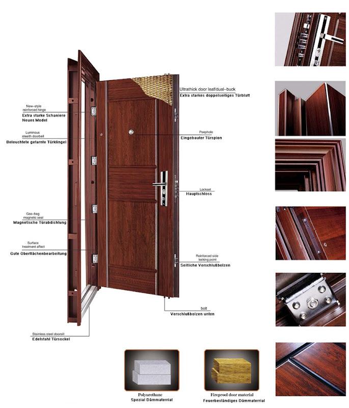 Wohnungstür sicherheitstür  Wohnungstür,Tür,Sicherheitstür,Stahltür,Haustür,Außen,Rechts ...