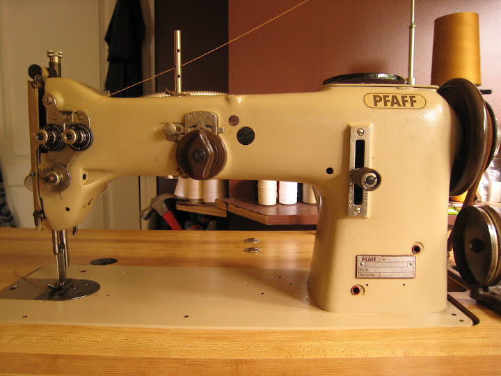 BrianSews Introducing The Pfaff 40 Classy Marvel Sewing Machine