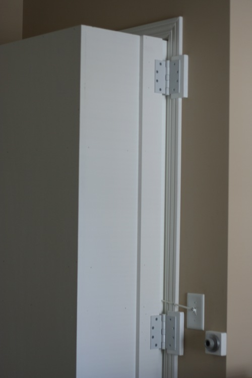 Tts custom gun cabinets and hidden safe rooms custom for Custom safe room