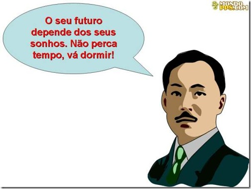 chineses e suas frases
