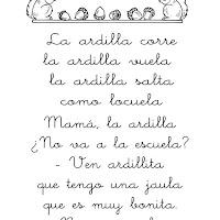 Poesia La ardilla.JPG
