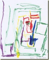 Emma marker painting