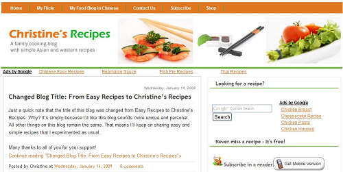 Christine's Recipes