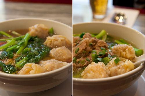 Wonton Noodle Soups