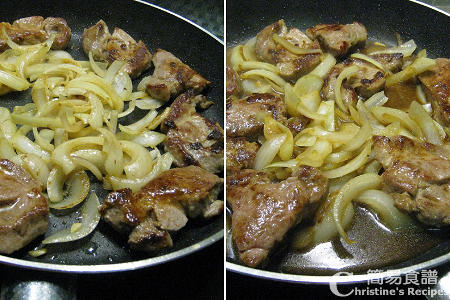 菲式燴豬扒製作圖 Pork Fillet Adobo Procedures