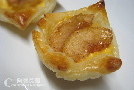 蘋果吉士酥皮 Apple Custard Pastry