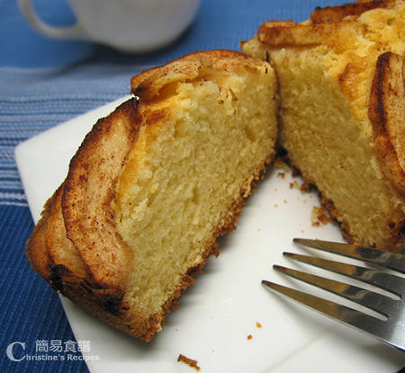 玉桂蘋果蛋糕 Apple Cinnamon Cake