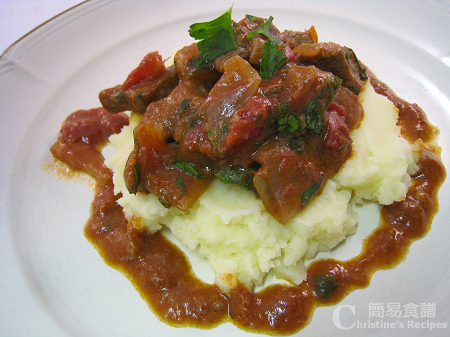 法式紅酒燉牛肉 Steak & Red Wine Casserole