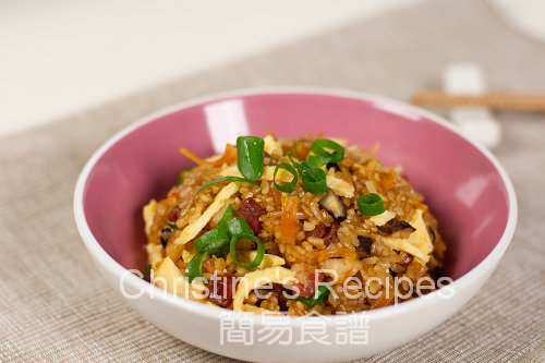 生炒臘味糯米飯 Fried Glutinous Rice02