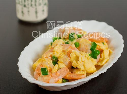 Fried Prawns with Eggs02