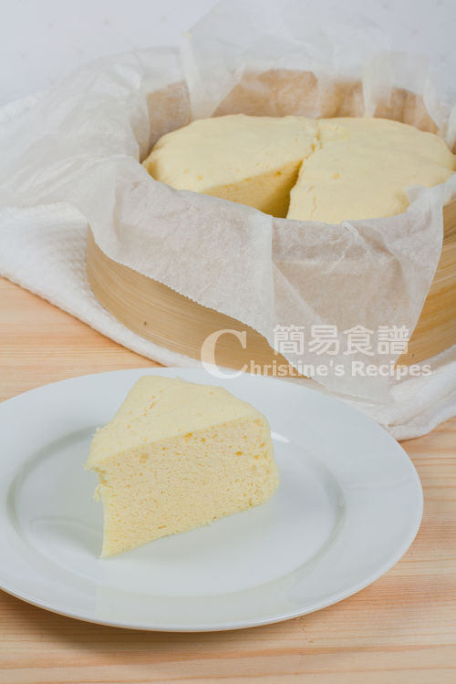 Steam Cake Recipes Pictures : Steamed Cake (Old fashioned Dim Sum) Christine s Recipes ...