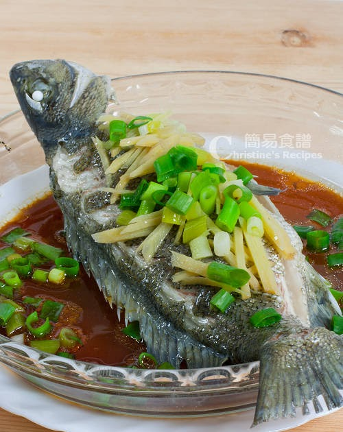 Steamed whole fish with cleaning tip christine 39 s for Steamed whole fish