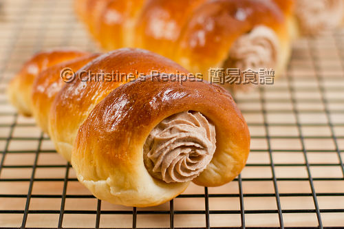 Nutella Cream Horns02