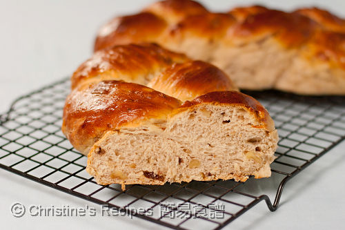 Braided Raisin Walnut Bread03