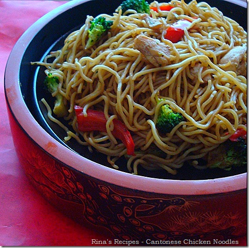 Stir fry chicken noodels 3