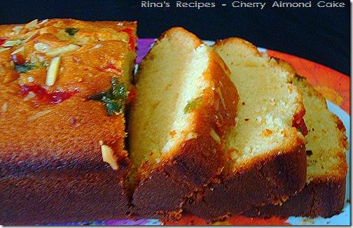 almond cherry cake 2
