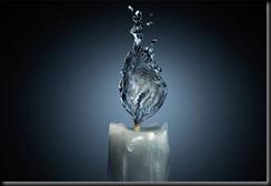 photoshop vela de agua